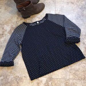 Women's JNY Sport size XL 3/4 sleeved top